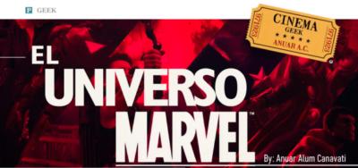 Universo Marvel Cinemageek
